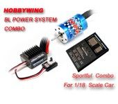 Ezrun-25A+Motor12T+Program Card Combo For 1/18 Or 1/16 Car