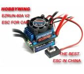 Hobbywing EZRUN-60A Brushless ESC for 1/10 Car