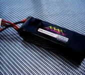 Maxforce 22.2v 2600MAH 30C Rechargeable Li-Polymer Battery