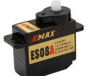 EMAX 8g High Sensitive Mini Servo Type ES08A