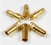 3.5mm Golden Plated Connector (3 pairs) AM-1001A1