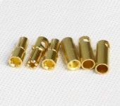 M5.0 Golden Plated Spring Connector (3 pairs)MTCNM50