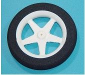 D63.5×Φ2.0×H10mm Sponge Wheel (Star shape spoke) HY006-02903