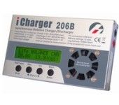 iCharger Multifunction battery 1-6S 20A/300W Balance Charger W/USB Port 206B