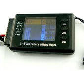 1-8S Cell Battery Voltage Meter