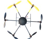 LOTUS RC UFO T700 Folding Hexacopter FPV Aircraft Multicopter Frame ARF with Landing Skid
