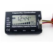 GT.POWER 2-7S LiPo Battery LCD Tester & Alarm