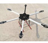 SIX600-6G Fiberglass & Aluminum 6-axial/Quadcopter DIY Frame With high stents