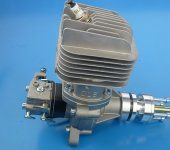 New DLE55RA Gasoline engine 55CC For Model Airplane