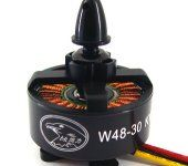 HL W48-30 480KV Outrunner Brushless Disk Type Motor for 6-8 rotors/ 5-10kg flight weight Aircraft
