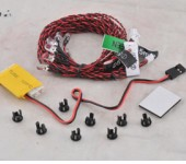 8 LED System for Helicopter & Airplane