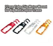 CNC Aluminum Alloy Motor Mount Fixture Holder Bracket for 22mm Arm RC Multicopter