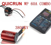 QUICRUN-WP-10BL60 and 3656 3800KV Motor + LED Program Box