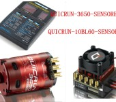 QUICRUN-10BL60-SENSORED+MOTOR3650 10.5T 3300KV +LED Program Box