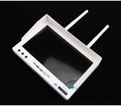 white LCD5802 5.8GHz LCD Diversity Receiver 40CH Monitor for FPV