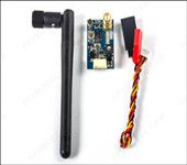 FX796T 5.8G 600mW 40CH Audio Video AV Transmitter Tx for FPV Multicopter