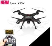 Details about  Black Syma X5SW Explorers-II FPV 2.4Ghz 50M RC Drone Quadcopter 2MP Wifi Camera