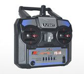 Flysky FS-i4 2.4G 4CH Radio RC Transmitter & I A6 Receiver for RC Helicopte