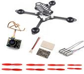 Lantian 105 Frame Kit  8520 Motor  F3 Brushed Flight Controller 25MW VTX 520TVL Camera