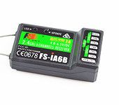 Flysky FS-iA6B 6CH Receiver PPM Output with iBus Port for FS-I6 I6S Transmitter