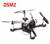 Kingkong Smart100 100mm Futaba  DSM2 Receiver Micro FPV Racing Quadcopter