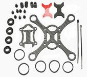 Kingkong Smart100 Micro FPV Racing Quadcopter Spare Parts 100mm Carbon Fiber DIY Frame Kit