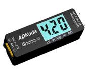 AOKoda Lipo to USB Power Converter QC3.0 Adapter Quick Charger for Smartphone Tablet PC