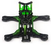 Mantis85 85mm FPV 3K Carbon Fiber Frame Kit with ABS Nylon Camera Mount