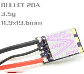 Emax Bullet Series 20A 2-4S BLHELI_S ESC Support Onshot42 Multishot D-shot Ready