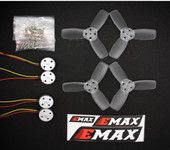 EMAX RS1104 5250KV Brushless Motors with T2345 Propeller Power Combo