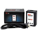 HOTRC B3 10W Charger 2S/3S/7.4V/11.1V Lipo Battery Balance Charger for RC Helicopter Drone