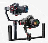 Feiyu Tech α2000 3-Axis Gimbal w/ Dual Handheld bar for Mirrorless DSLR Cameras
