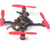 Trainer90 0703 1S Micro Brushless FPV Quadcopter FRSKY PNP Kit