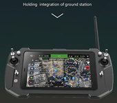 All-in-one T20 Handheld Ground Station 8 inch IPS Built-in Win 10 ArduPilot Software