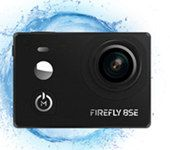 Firefly 8SE action camera with touch screen 170 degree lens external microphone