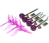GEAR230F 2306 Brushles motor / BS30D BLHELI_S 30A ESC / 5063 Quick installation propeller sets