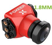 Foxeer Predator Mini Camera 1000TVL PAL 1.8MM DC 5V-40V Wide Voltage Multi-Functional Bracket Super WDR FPV OSD for FPV