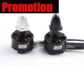 Promotion DYS BX1306/2300KV 2-3S Outrunner Brushless Motor CW/CCW Set (for mini multicopter)