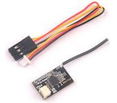 Super Tiny Flysky receiver Fli14 with RSSI output to Betaflight OSD for micro Racing drones