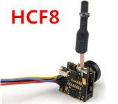 HCF8 5.8G 48ch 25mw transmitter 700TVL 1/4 CMOS Wide Angle FPV Camera Support OSD NTSC  antenna FPV RC Parts
