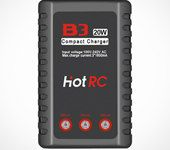 HOTRC B3 20W 1.6A AC Battery Balance Charger for 2S-3S LiPo Battery