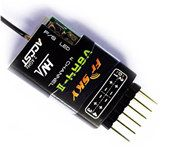 FrSky V8R4-II 4 Channel Park Flier Receiver for RC model