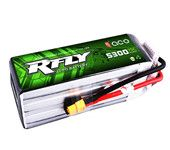ACE RFLY R-fly 6S Rechargeable Lipo Battery 5300mAh 75C 22.2V 6S1P for 700 Helicopter UAV Drone