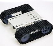 TP101 robot tracked tank chassis Ardui-no smart car metal panel for graduation design tutorial