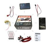G.T.POWER Container Truck Lighting and Voice Vibration System for Tamiya RC4WD Tractor RC Truck