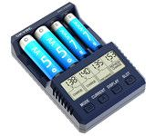 SKYRC NC1500 5V 2.1A 4 Slots LCD AA/AAA NiMH Battery Charger Discharger & Analyzer