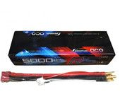 Gens ace 5000mAh 2S1P Hard Case 100C 7.4V Lipo Battery Pack for Rc Cars #10 Racing Series