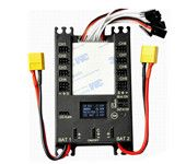 Mini Power DP Pro 9 Channels Mini Servo Section Board Power Box with BEC for Gas Plane