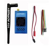 Aomway 5.8G 1000mW Audio/Video AV 1W Transmitter & 5.8G Receiver w/Antenna for rc quadcopter
