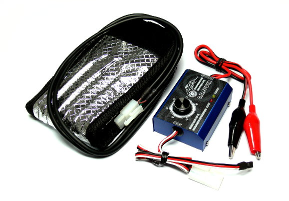 GT Power 7.4-12V RC Tire Warmer With Temperature Controller for radio control